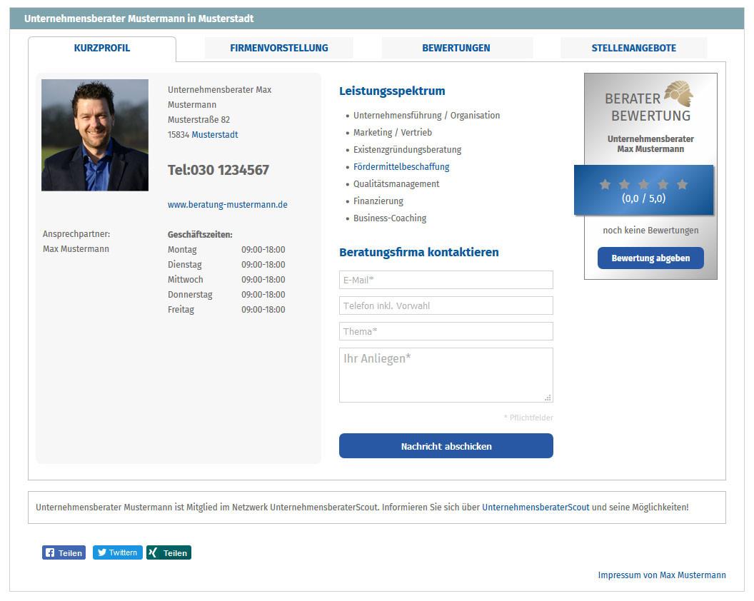 Mehr Online Marketing Basis Partnerschaft